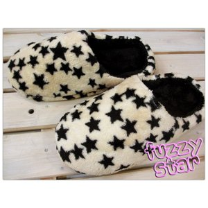 パイルボアルームシューズ Fuzzy Star(ファジー・スター) ベージュ/M・Lサイズ|tomy