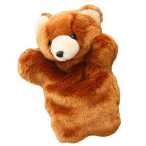 パペット かわいい アニマル 大劇団 熊 ぬいぐるみ 人形 動物