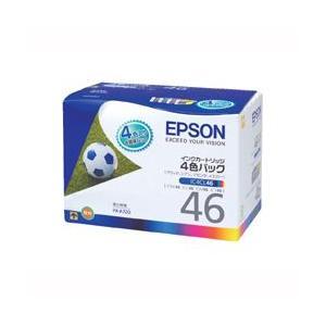 エプソン IC4CL46 4色パック 純正品 外箱なしメール便にて送料無料|toner-bank