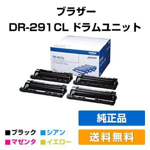 DR-291CL ドラムユニット ブラザー HL-3170CDW brother 4色 純正