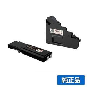 CWAA0843 トナー回収ボトル ゼロックス DocuPrint CP400 CT202085 黒 トナー付 純正|toner-sanko