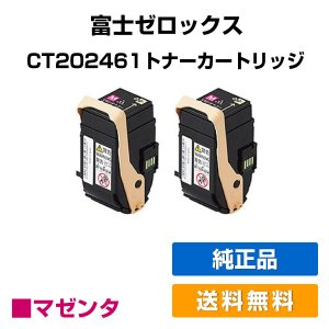 CT202465 トナー ゼロックス DocuPrint C3450d トナー 赤 2本セット 純正 toner-sanko