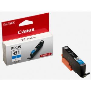 キヤノン(Canon) BCI-351XL C シアン (大容量) 純正品 インクタンク 6439B...