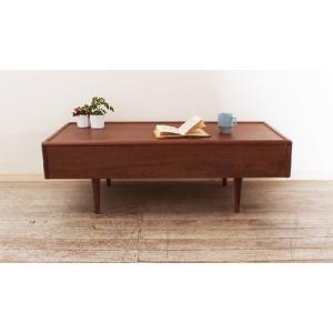 テーブル リビングテーブル ウォールナット ミューク120 丸み|tonericoline|02