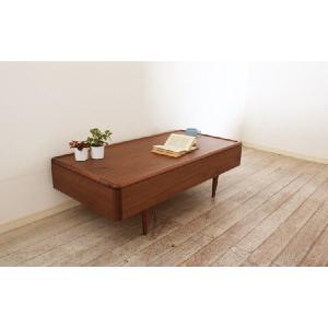 テーブル リビングテーブル ウォールナット ミューク120 丸み|tonericoline|04