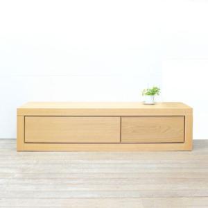 テレビボード 伸縮式 日本製 ホワイトオーク バリー140〜220|tonericoline