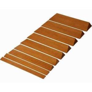 【段差スロープ】木製 滑りにくいスロープ ◆ [S-19]|tonerlp