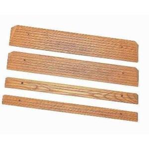 【段差スロープ】木製ミニスロープ ◆長さ80×奥行5.5cm [TM-999-15]|tonerlp