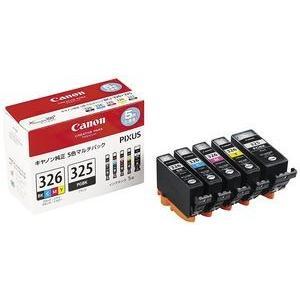 キャノン BCI-326+325/5MP 5色パック 純正インク|tonerlp