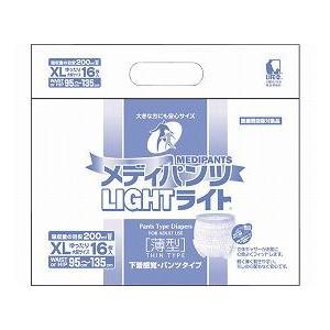【おむつ】メディパンツライト XL16 4個セット|tonerlp