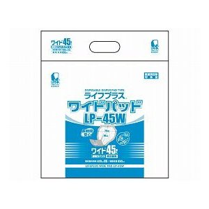 【トイレ用品】ウェルプラス ワイドパッド LP-45W 6個セット|tonerlp