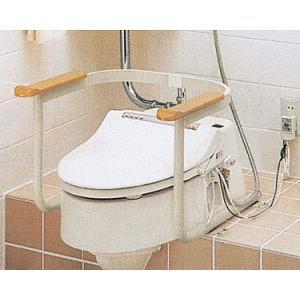 トイレ用手すり(和風改造用腰掛便器用) ◆EWC211AR|tonerlp