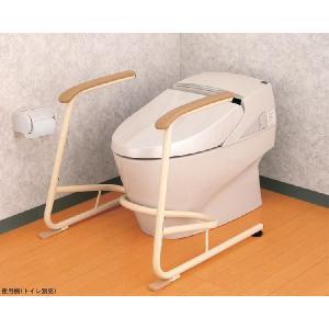 トイレ用立ち上がり補助フレーム SS-K(スチール製) ◆533-079|tonerlp