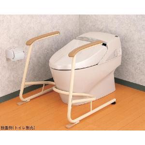 トイレ用立ち上がり補助フレーム SUS-R(ステンレス製) ◆533-078|tonerlp