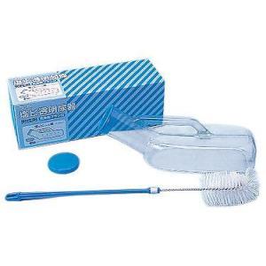 SA透明尿器 ブラシ付 男性用 ◆100230|tonerlp
