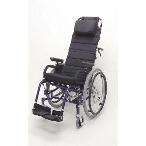 ティルト、リクライニング自走用車いす 楽歩 ハイバックセット 介助ブレーキ付 LAS-2LAH ◆座幅40cm|tonerlp
