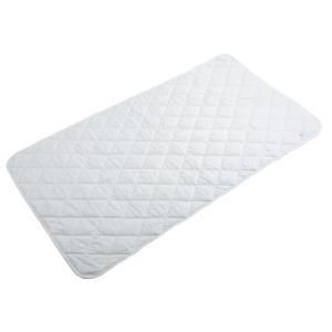 【マットレス、ベッドパッド】介護用洗えるベッドパッド ショート/ 80700002 幅86cm ホワイト|tonerlp
