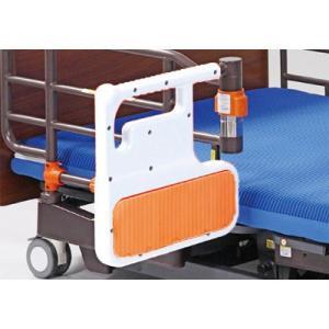 【ベッド関連用品】自動ロック式ベッド用グリップ ニーパロ・パッド/ PZRHP-AT116J|tonerlp