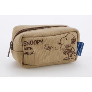 スヌーピーバンドコレクション ユーフォニアムマウスピースポーチ/SNOOPY BAND COLLECTION SMP-EPBG|tonicgakki