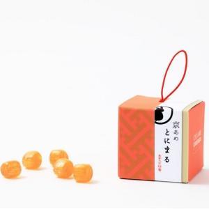 プレゼントスイーツキャンディ【京あめ いろむすび】赤楽(生姜)  CUBEタイプ|tonimaru