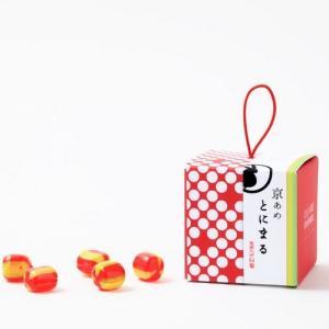 ギフトキャンディ【京あめ いろむすび】紅赤(りんご)  CUBEタイプ|tonimaru