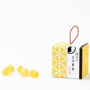 ギフトスイーツキャンディ【京あめ いろむすび】黄金(べっこう)  CUBEタイプ|tonimaru