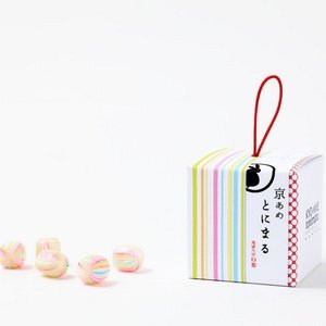 スイーツギフトキャンディ【京あめ いろむすび】錦(錦玉)CUBEタイプ|tonimaru