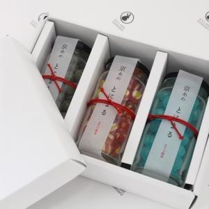 ホワイトデースイーツギフトキャンディ 送料無料 いろむすび ビンタイプ3本(りんご・ラムネ・抹茶)ギフトセット|tonimaru