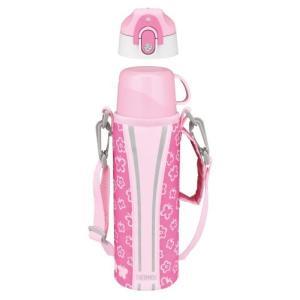 サーモス 水筒 真空断熱2WAYボトル 0.8L ピンク FFR-800WF P