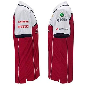 Alfa Romeo アルファロメオ F1 Racing Team オフィシャル レプリカ ポロシャツ 2019 (S身幅48cm着丈65