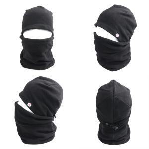 Azarxis バラクラバ フェイスマスク フリース 帽子 ネック 防寒 ネックウォーマー 男女兼用...