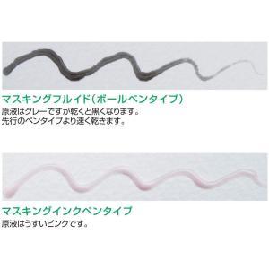 ホルベイン 水彩用メディウム マスキングフルイド (ボールペンタイプ) 8ml 003479
