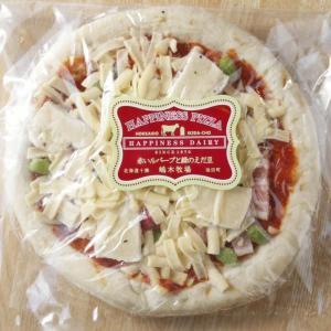 《冷凍》 ピザ お取り寄せ 赤いルバーブと緑のえだ豆 x 2枚 お中元 夏ギフト−十勝のおいしいピザをお取り寄せ♪/ハッピネスデーリィ[冷凍発送]|tonxton-market