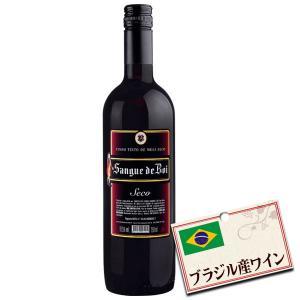 ブラジル 赤ワイン アウロラ サンゲ デ ボイ セッコ (辛口・750ml)|tonya
