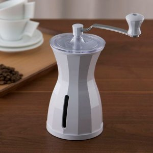 【送料無料】貝印 ミカフェート ザ・コーヒーミル スノーホワイト Kai House The Coffee Mill FP-5151 日付指定不可|tonya|03