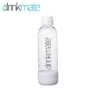DrinkMate 家庭用炭酸飲料 ソーダメーカー ドリンクメイト 専用ボトル Lサイズ ホワイト DRM0022|tonya