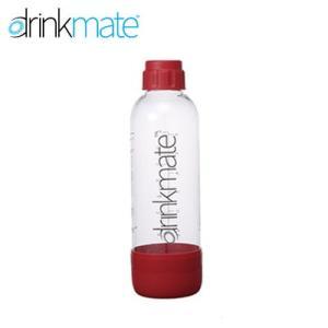 DrinkMate 家庭用炭酸飲料 ソーダメーカー ドリンクメイト 専用ボトル Lサイズ レッド DRM0024|tonya