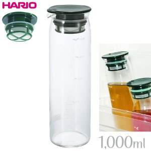 HARIO ハリオ 水出し茶ポット 1000ml ダークグリーン MD-10DG|tonya
