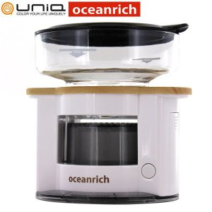 送料無料 UNIQ x oceanrich ユニーク オーシャンリッチ 自動ドリップ コーヒーメーカー ホワイト UQ-CR8200WH|tonya