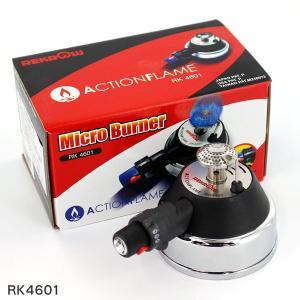 レクロ 充填式ガスバーナー(安全ストッパー付) RK4601 tonya