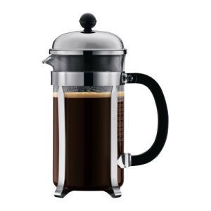 ボダム シャンボール コーヒーメーカー 1L 1928-16 クロム tonya