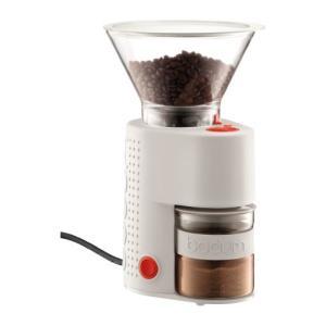 【送料無料】 ボダム 10903-913JP 電動コーヒーグラインダー BISTRO ビストロ ホワイト WH|tonya
