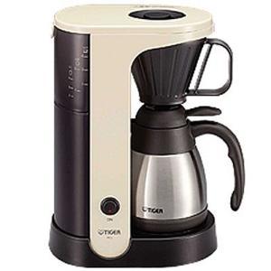 タイガー コーヒーメーカー 真空二重ステンレス4杯用 ACU-A040 WT (カフェクリーム)