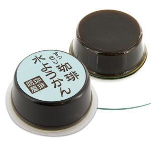珈琲問屋 オリジナル コーヒー水ようかん (1個)80g|tonya