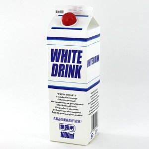 GS 乳飲料 ホワイトドリンク 1L 業務用 tonya