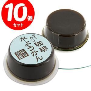 珈琲問屋 オリジナル コーヒー水ようかん(10個) 【セット割引】|tonya