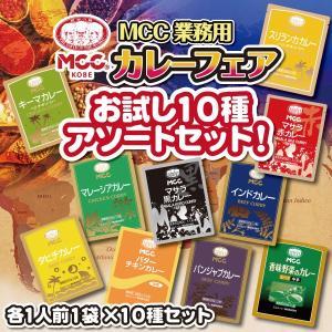 MCC 業務用レトルトカレーお試し10種アソート【セット割引】|tonya