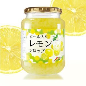 フードインパクト ピール入りレモンシロップ 920g ドリンク デザートソース レモンソーダ レモンサワー|tonya