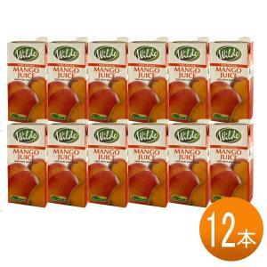 送料無料 砂糖・水無添加 ワイルド マンゴージュース テトラ (1L×12本) tonya