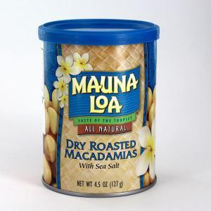 マウナロア 塩味マカデミアナッツ缶 127gの関連商品5